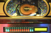 Close up of jukebox. — Stock Photo