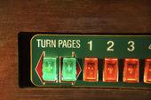 Jukebox buttons. — Stock Photo