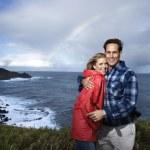 Happy smiling couple. — Stock Photo