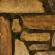 Detail of stone wall. - Stock Photo