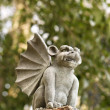 Gargoyle statue. - Stock Photo