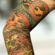 Tattooed arm. — Stock Photo #9364735