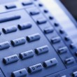 Stock Photo: Telephone keypad.