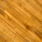 Hardwood floor. — Stock Photo