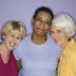 Portrait of three women. — Stock Photo