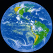 Earth from outer space. — Stock Photo