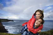 Couple vacationing in Maui, Hawaii. — Stock Photo