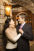 Couple embracing. — Stock Photo