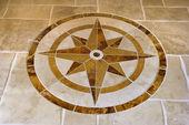 Floor with star shape. — Stock Photo