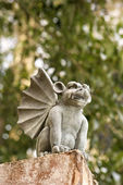 Gargoyle statue. — Stock Photo