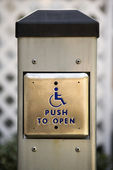 Button for handicapped — Stock Photo