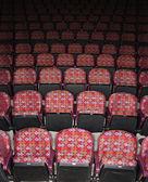 Asientos vacíos en el teatro — Foto de Stock