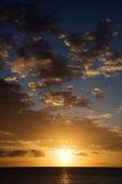 Sunset in Maui, Hawaii. — Stock Photo
