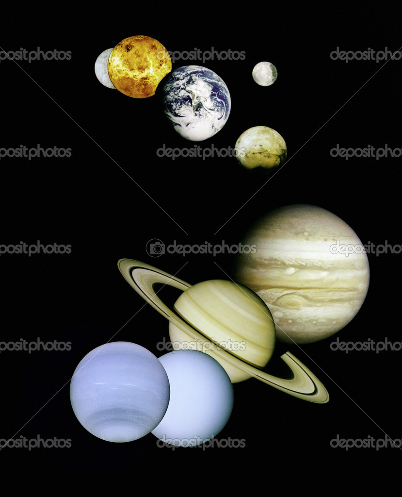 NASA image of planets in outer space. — Stock Photo #9366919
