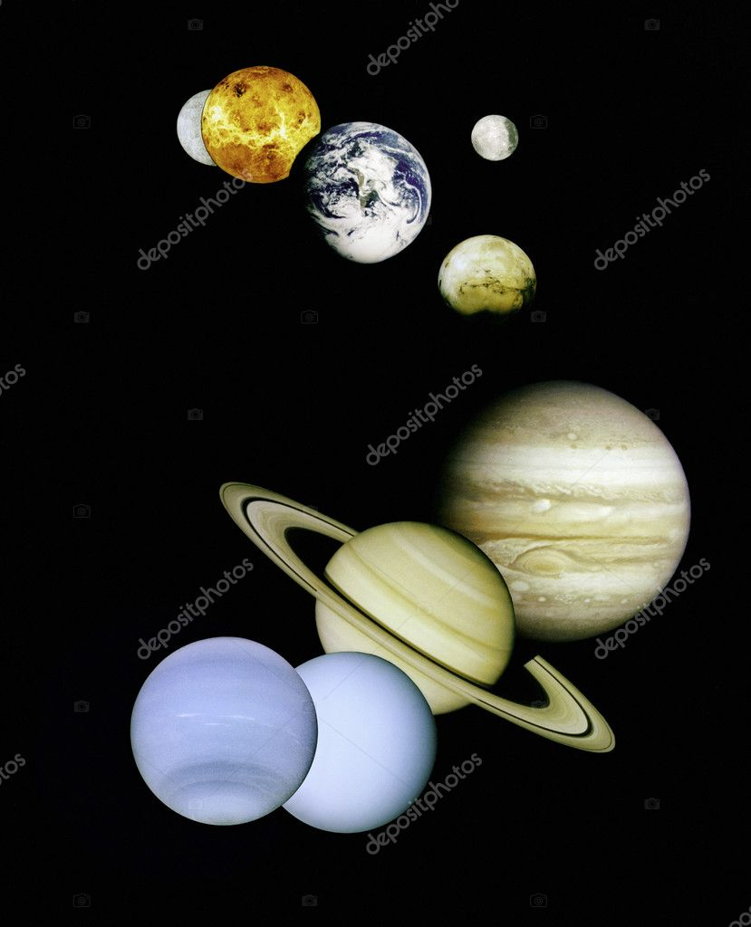 what are the 8 planets from outer space real - photo #39