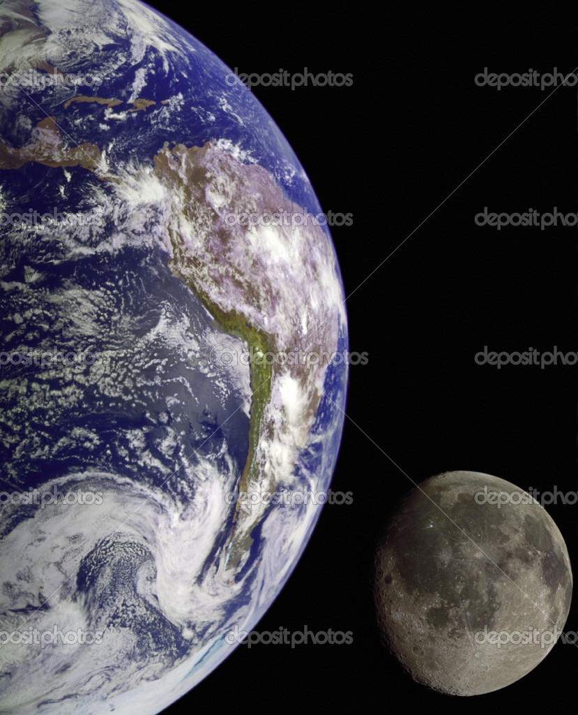 NASA image of Earth from outer space. — Stock Photo #9366933