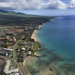 Maui coast. - Stock Photo