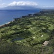 Stock Photo: Golf course on Maui.