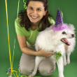 Dog birthday party. — Stock Photo #9425571