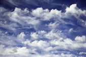 Blue sky and clouds. — Stock Photo