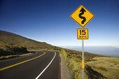 Estrada em maui, havaí. — Foto Stock