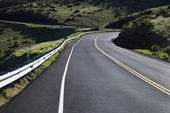 Road in Haleakala, Maui. — Stock Photo