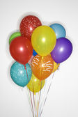 Bunch of colored balloons. — Stock Photo