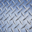 Diamond plate metal texture. — Stock Photo