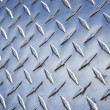 Diamond plate metal texture. — 图库照片