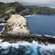 Stock Photo: Rocky Hawaiian coast.
