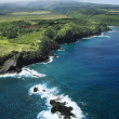 Stock Photo: Hawaii coastline.