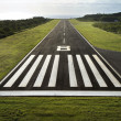 Stock Photo: Airplane runway.
