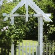 Arbor in Yard - Photo