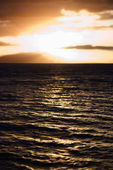 Sunset in Maui. — Stock Photo