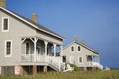 Two Beachfront Homes — Stock Photo