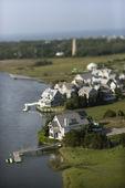 Coastal homes. — Stock Photo
