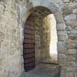 Stock Photo: Arched doorway.