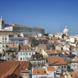 Stock Photo: City Skyline of Lisbon
