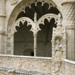 Arched Ornate Relief at the Monastery of Jeronimos - Foto Stock