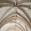 Rib-vaulted ceiling. — Stock Photo