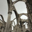 Igreja do Carmo ruins. - Stock Photo