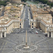 St Peter's Square - Stock Photo