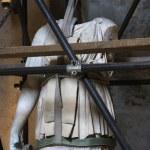 Statue under restoration. — Stock Photo #9496665
