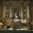 Trevi Fountain at Night - Stockfoto
