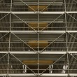 Scaffolding around structure. - Stock fotografie
