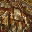 Fresco in Vatican Museum. — Stock Photo