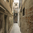 Stock Photo: Alleyway in Venice.