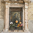 Religious shrine, Venice. — Stock Photo