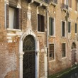 Ornate Facade of Venetian Home — Stock Photo