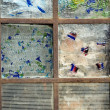 Stock Photo: Abstract Stained Glass Window